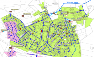 Schadensfälle durch Starkregen am 28.07.2014 in Welver