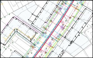 Lageplanausschnitt Steinring